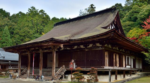 湖東三山 西明寺(池寺)